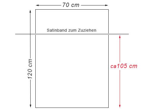 Frucht-Schutzbeutel und Gemüse-Schutzbeuteö 120x70 cm