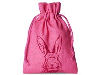 cotton pouches cotton bag easter bunny