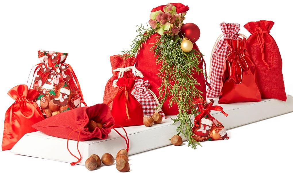 weihnachtsdekorationen aus organzabeutel und. Black Bedroom Furniture Sets. Home Design Ideas