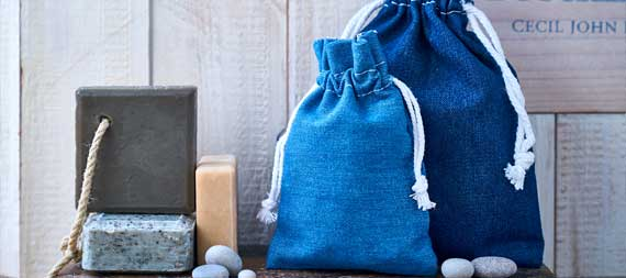 denim bags for packaging